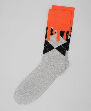 Носки HENDERSON. Цвет: оранжевый
