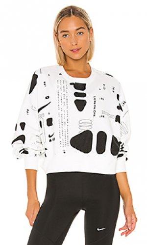 Пуловер Nike. Цвет: белый