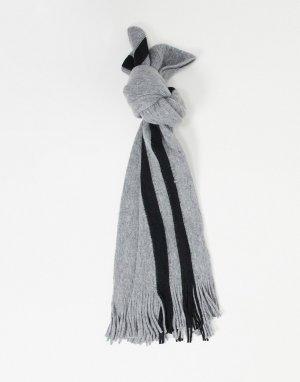 Серый шарф Bellfield