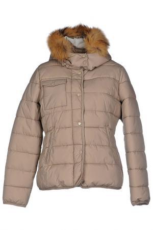 Куртка Censured. Цвет: бежевый
