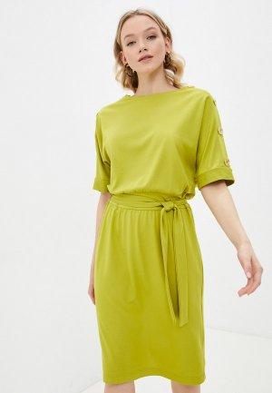 Платье Forus. Цвет: зеленый