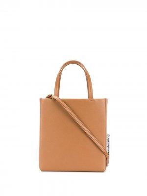 Каркасная сумка-тоут Alexander Wang. Цвет: нейтральные цвета