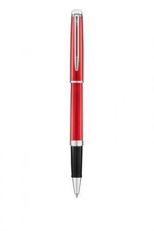 Ручка-роллер Waterman. Цвет: красный