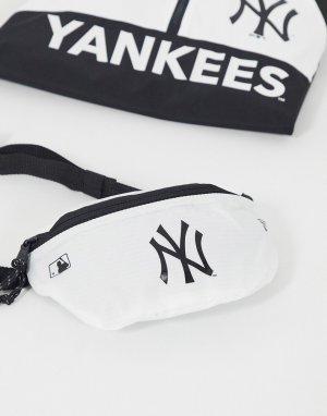 Белая сумка-кошелек на пояс MLB NY-Белый New Era