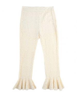 Повседневные брюки GUARDAROBA by ANIYE. Цвет: слоновая кость