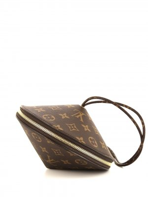 Клатч Toupie pre-owned 2019-го года Louis Vuitton. Цвет: коричневый
