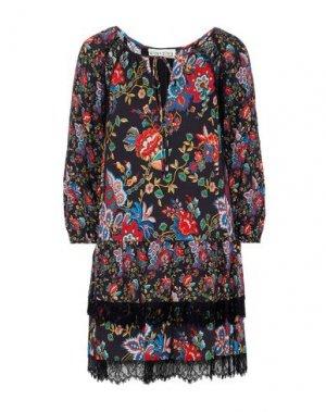 Короткое платье ALICE + OLIVIA. Цвет: черный