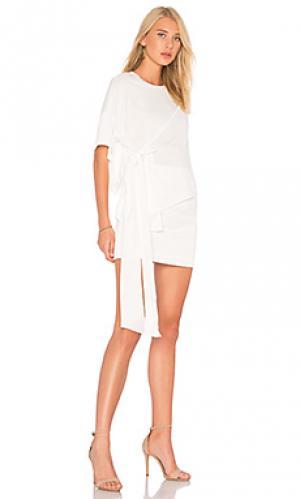 Мини платье lexi AQ/AQ. Цвет: белый