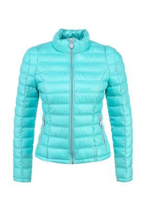 Куртка утепленная Lawine. Цвет: голубой