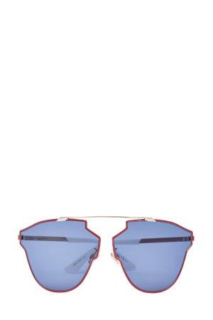 Крупные очки-авиаторы в деструктурированной оправе DIOR (sunglasses) women. Цвет: none