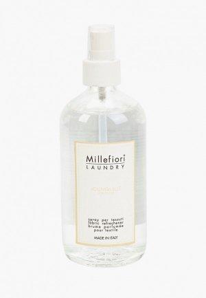 Духи для текстиля Millefiori Milano LAUNDRY Нарцисс FABRIC REFRESHENER JOUNQUILLE. Цвет: прозрачный