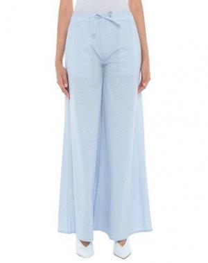 Повседневные брюки ATINSIGHT by ANDREA TURCHI. Цвет: лазурный