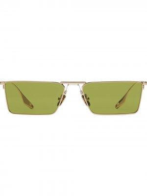 Солнцезащитные очки New Bond Gentle Monster. Цвет: зеленый