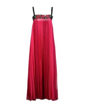 Длинное платье ANNA RACHELE. Цвет: фуксия