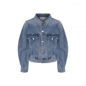 Джинсовая куртка Agolde. Цвет: синий
