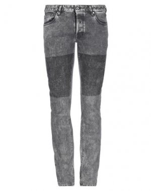 Джинсовые брюки JUST CAVALLI. Цвет: стальной серый