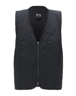 Жилет Y-3. Цвет: черный
