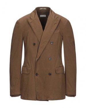 Пиджак DRIES VAN NOTEN. Цвет: коричневый