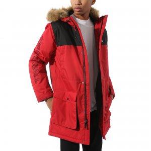 Куртка Sholes MTE Jacket VANS. Цвет: красный_черный