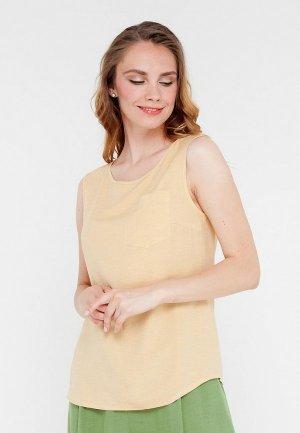 Блуза Gregory. Цвет: желтый