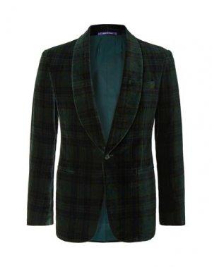 Пиджак RALPH LAUREN PURPLE LABEL. Цвет: темно-зеленый