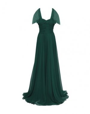 Длинное платье JASON WU. Цвет: зеленый