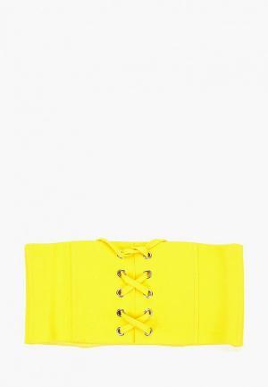 Пояс Ruxara. Цвет: желтый