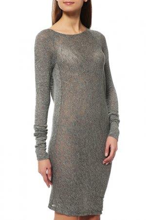 Платье Donna Karan. Цвет: 38, серый