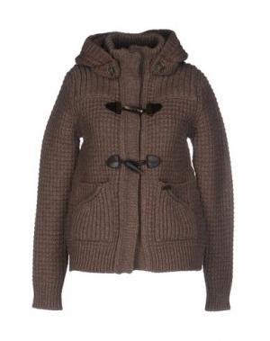 Куртка BARK. Цвет: коричневый