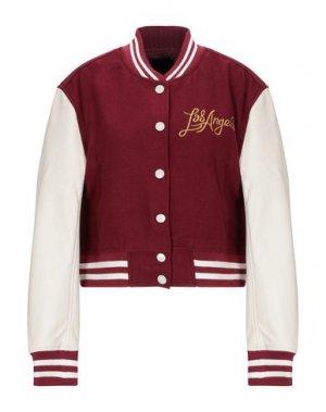 Куртка KENDALL + KYLIE. Цвет: красно-коричневый