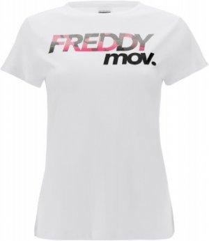 Футболка женская , размер 42-44 Freddy. Цвет: белый