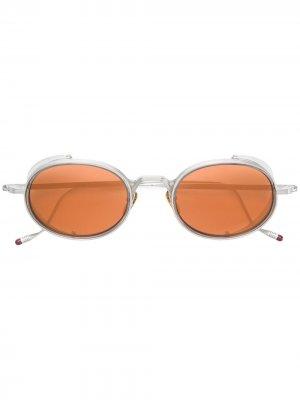 Солнцезащитные очки Rex Jacques Marie Mage. Цвет: золотистый