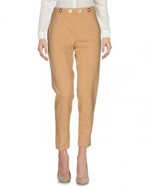 Повседневные брюки ANNARITA N. Цвет: верблюжий