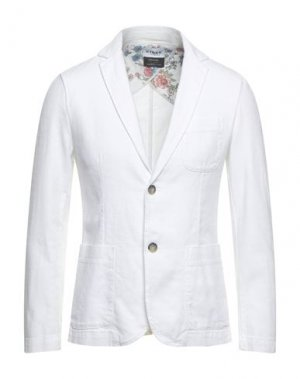 Пиджак HYDRA CLOTHING. Цвет: белый