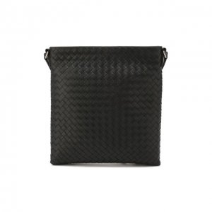 Кожаная сумка Bottega Veneta. Цвет: чёрный