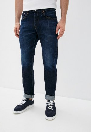 Джинсы Edwin Regular Tapered. Цвет: синий