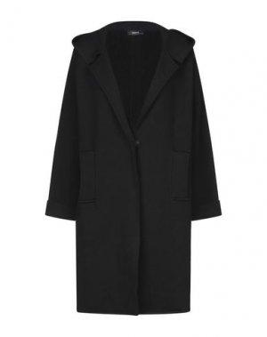 Легкое пальто ALPHA STUDIO. Цвет: черный
