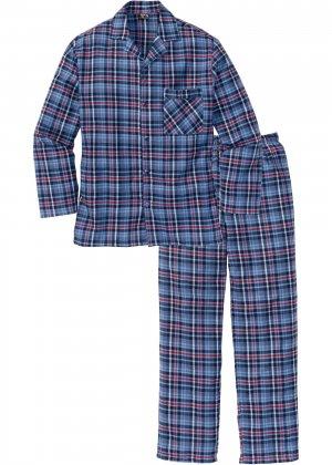 Фланелевая пижама свободного покроя. bonprix. Цвет: красный