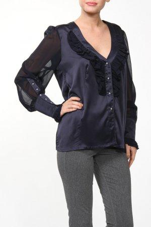 Блузка Giani Forte. Цвет: синий