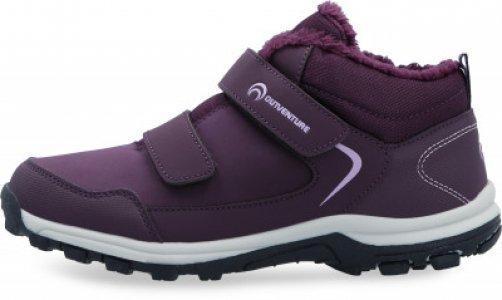 Ботинки утепленные для девочек Track Fur 2 G, размер 37 Outventure. Цвет: фиолетовый