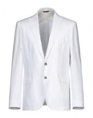 Пиджак TONELLO. Цвет: белый