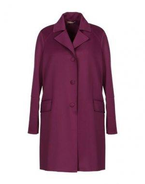 Пальто JOLIE CARLO PIGNATELLI. Цвет: пурпурный