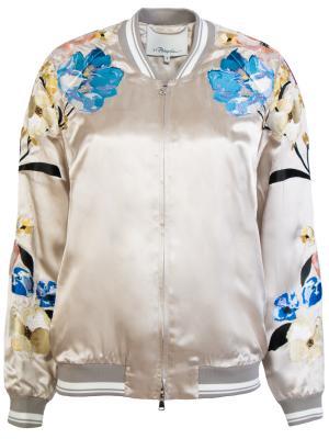 Куртка-бомбер 3.1 Phillip Lim. Цвет: разноцветный