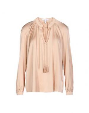 Блузка DEREK LAM 10 CROSBY. Цвет: пудровый