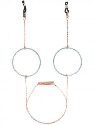 Цепочка Circle Of Lust для солнцезащитных очков Frame Chain. Цвет: розовый