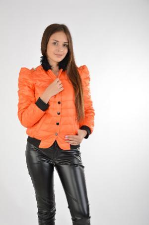 Куртка Joe Suis. Цвет: оранжевый