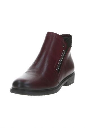 Ботинки Goergo. Цвет: бордовый
