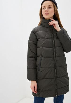 Куртка утепленная b.young. Цвет: хаки