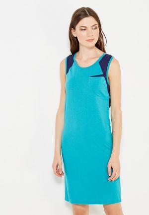 Платье H:Connect. Цвет: бирюзовый