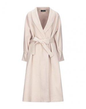Пальто CLIPS. Цвет: светло-розовый
